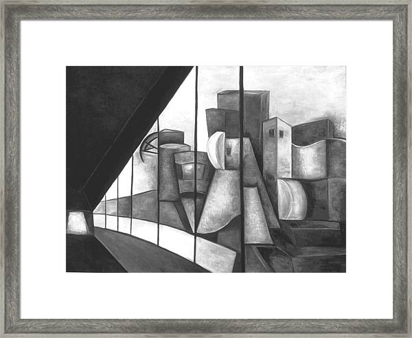 View Of The Weisman Ix Framed Print