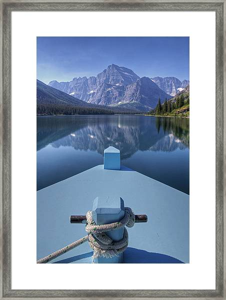 Views From The Bow Framed Print