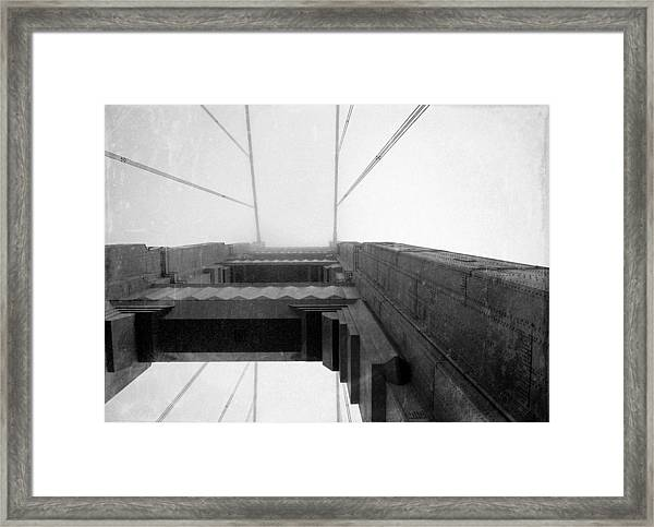 Vintage Bridge Framed Print