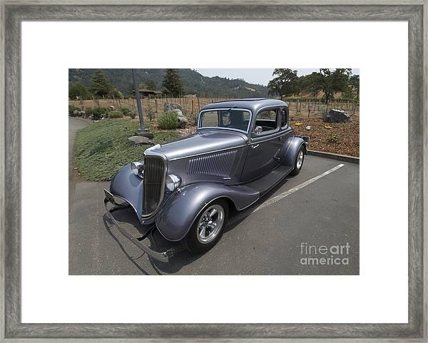 Vintage Car Alexander Valley Framed Print