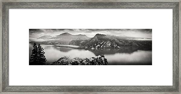 Vintage Columbia Panorama Framed Print