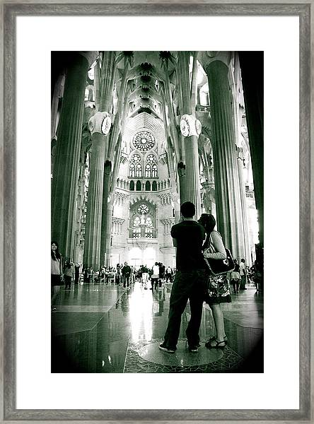 Framed Print featuring the photograph Vintage Sagrada by HweeYen Ong
