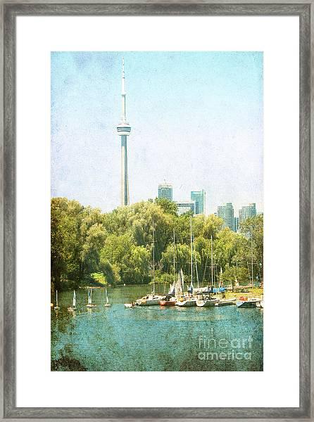 Vintage Toronto Framed Print