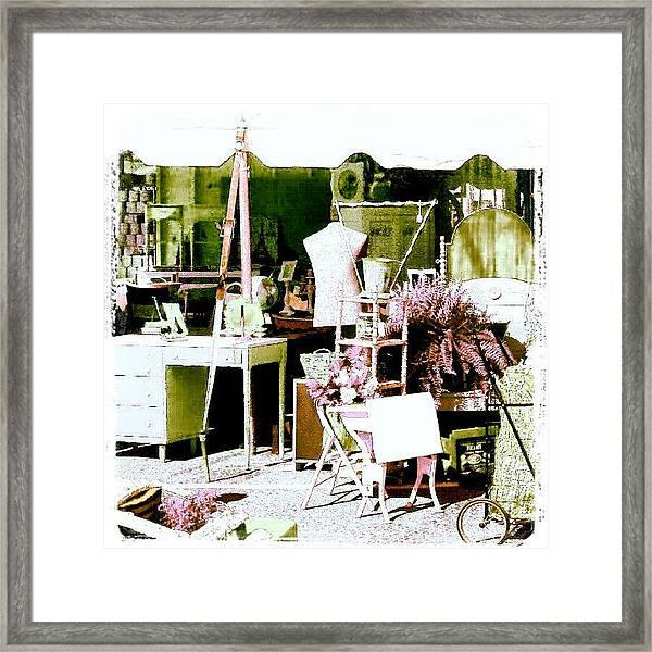 Vintage Treasures #android #andrography Framed Print