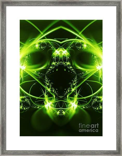 Viper Fish Framed Print