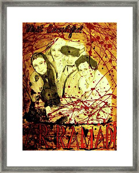 Visit Beautiful Ar Ramadi Framed Print