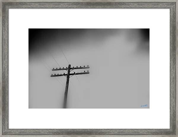 Voices From Heaven Framed Print