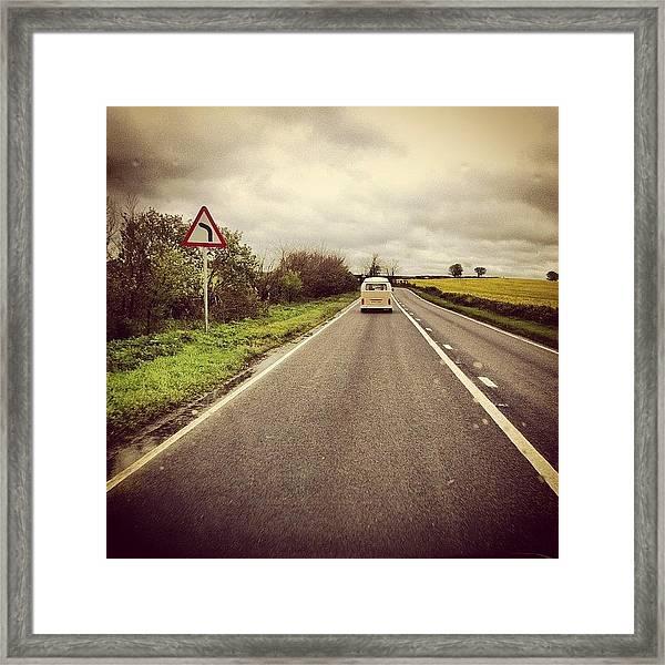 #volkswagen #dub #vwbus #vwbus #vwlove Framed Print