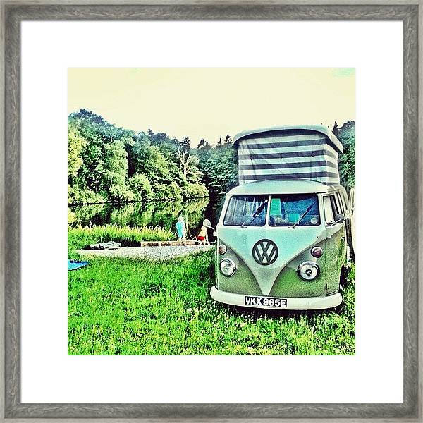 #vw That's Camping Framed Print
