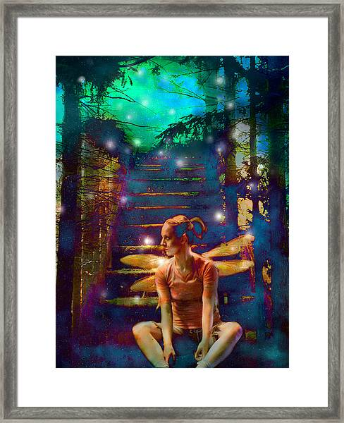 Waiting At The Gates Of Dawn Framed Print
