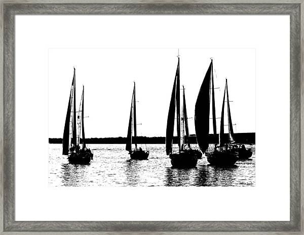 Waiting On The Wind Framed Print