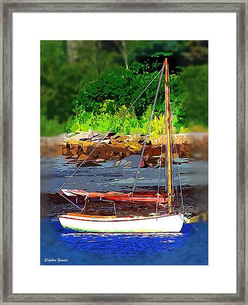 Waiting To Sail Framed Print