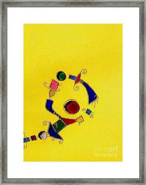 Wall Abstract Framed Print