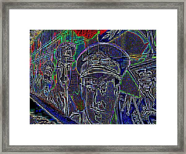 Warriors Framed Print
