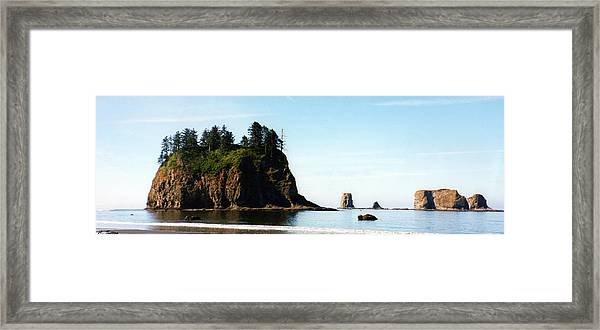 Washington Coast Framed Print