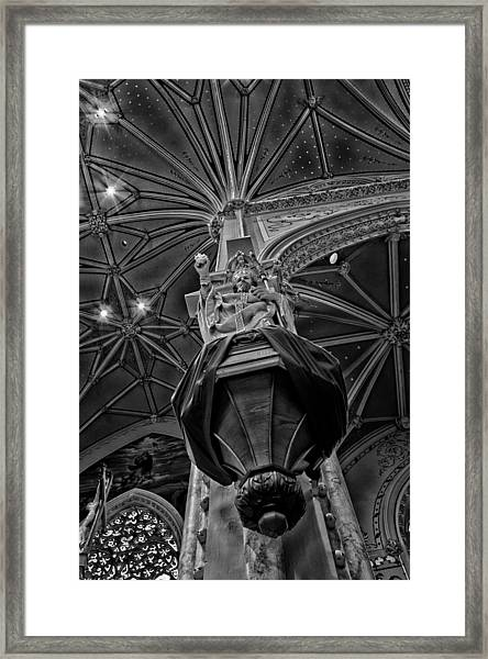 Watch Over Us Framed Print