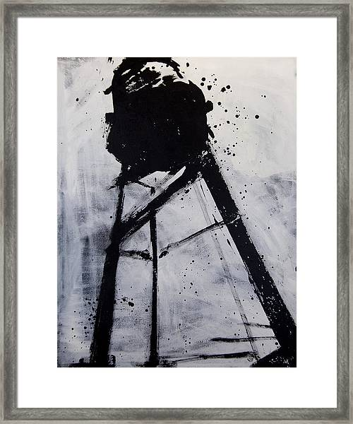 Water Tower 02 Framed Print