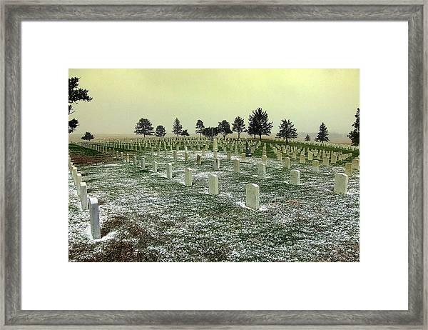 We Will Remember Them Framed Print