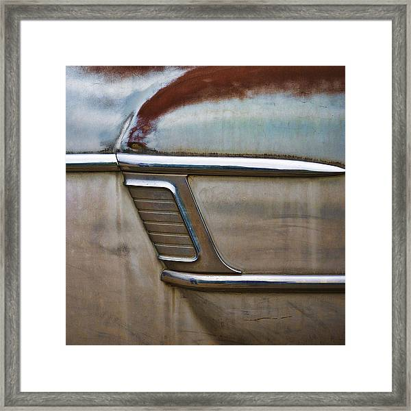 Weathered But Still Cool Framed Print