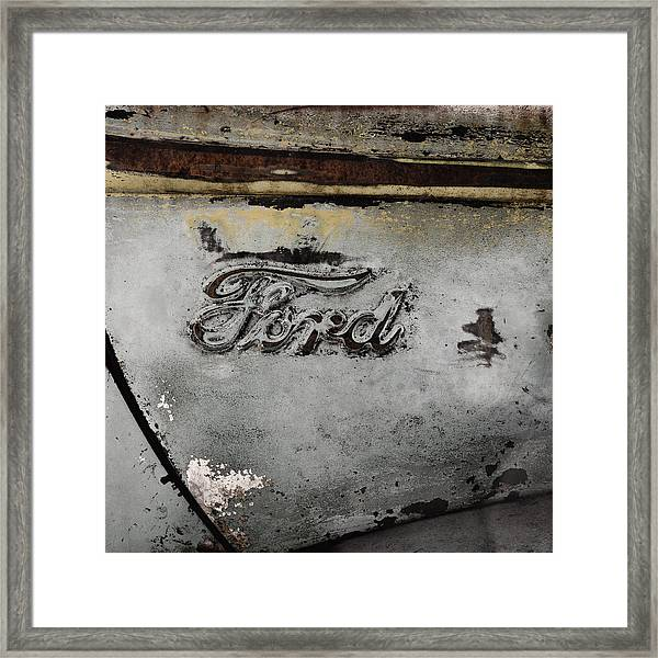 Weathered But Still Cool Two Framed Print
