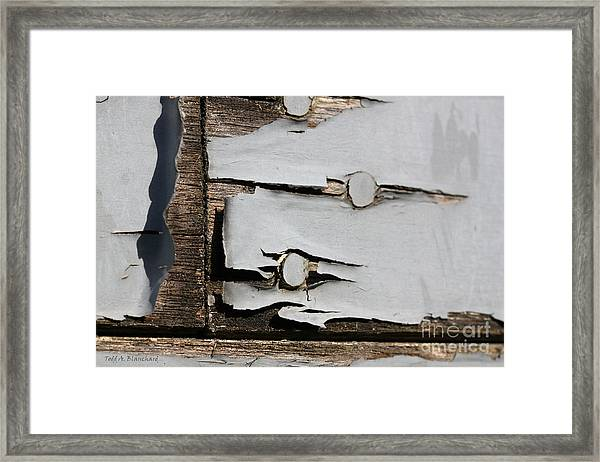 Weathered Framed Print