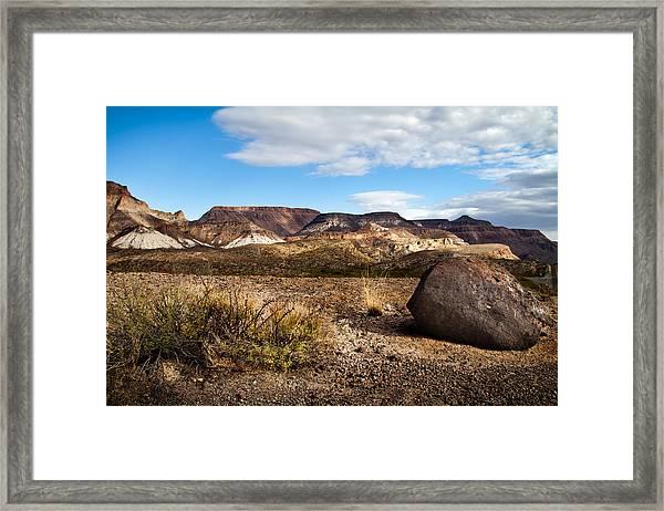 West Texas Framed Print