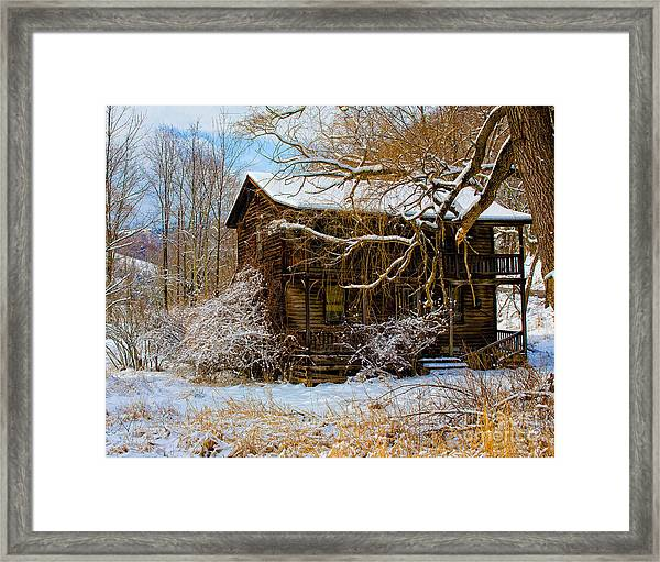 West Virginia Winter Framed Print