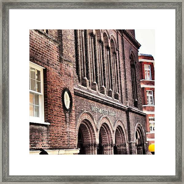 Westminster Chapel, London | Framed Print