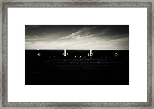 Westward Bound Framed Print