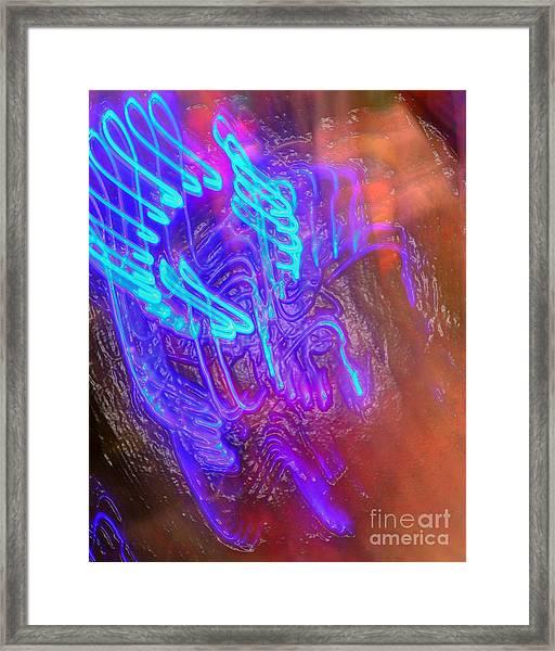 Whaduzgonnab Framed Print