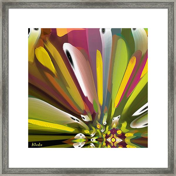 When Spring Turns To Fall Framed Print