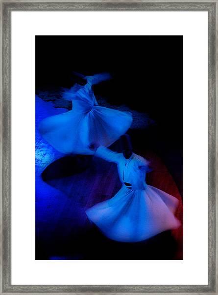 Whirling Dervish - 3 Framed Print