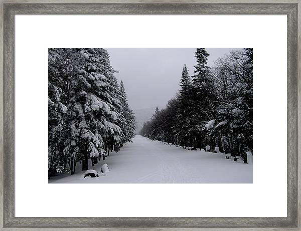 Whiteface Highway Framed Print