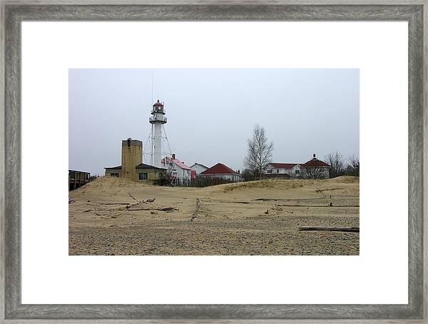 Whitefish Point Light Station Framed Print
