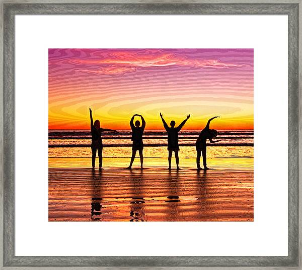 Whole Lotta Love Framed Print by Donna Pagakis