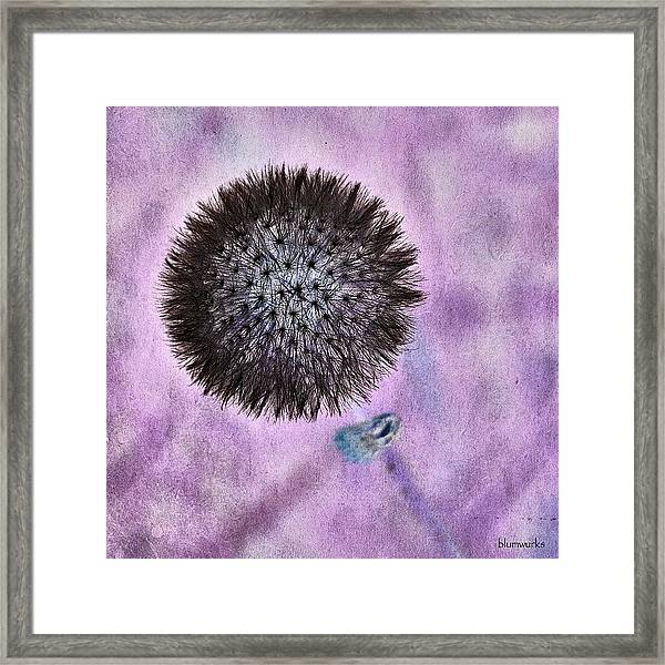 Why So Negative! Framed Print