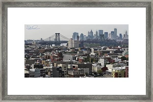 Williamsburg Bridge Framed Print