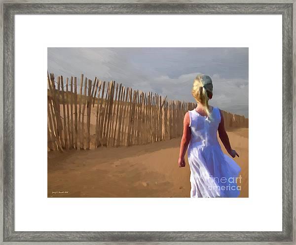 Wind Breaker Framed Print