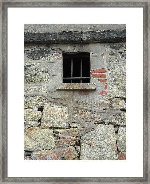 Window Of Desire Framed Print