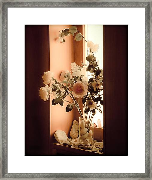 Athens, Greece - Window Sill Framed Print