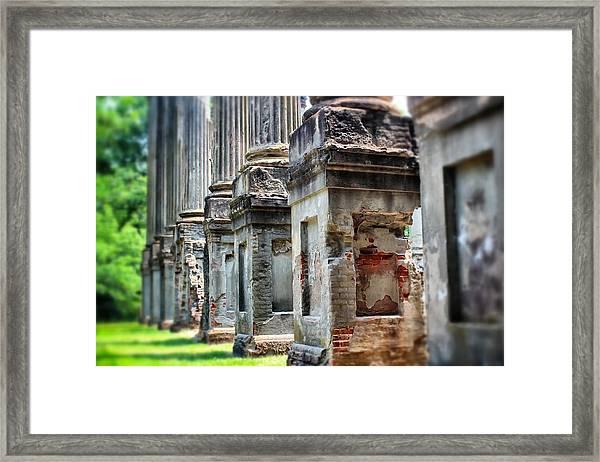 Windsor Ruins 1 Framed Print