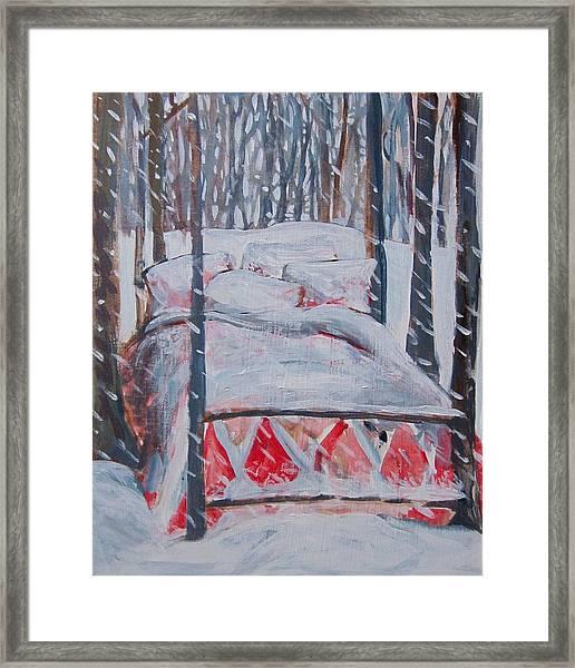 Winter Hybernation Framed Print