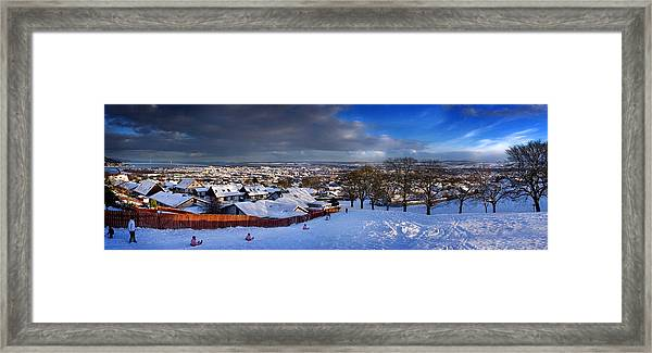 Winter In Inverness Framed Print