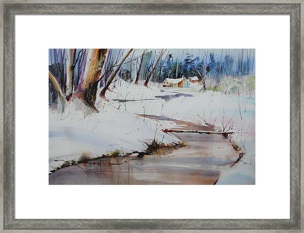 Winter Wonders Framed Print