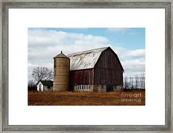 Wisconsin Dairy Barn Framed Print