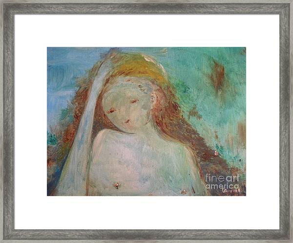 Woman Of Sorrows Framed Print
