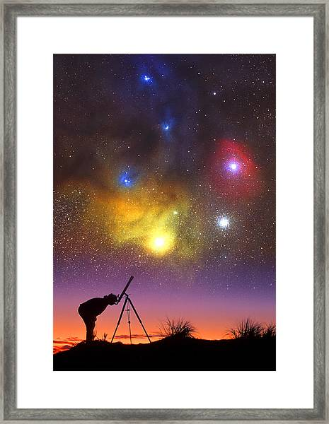 Wonder Of The Universe Framed Print