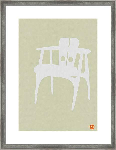 Wooden Chair Framed Print