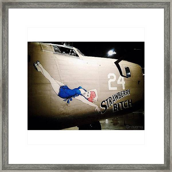 Ww2 Consolidated B-24d Liberator Framed Print
