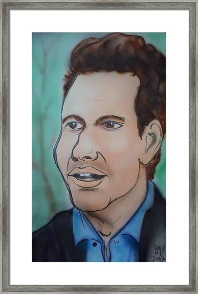 X Kardashian Framed Print by Pete Maier